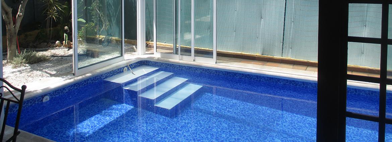 construccion de piscinas con liner en valencia comunidad