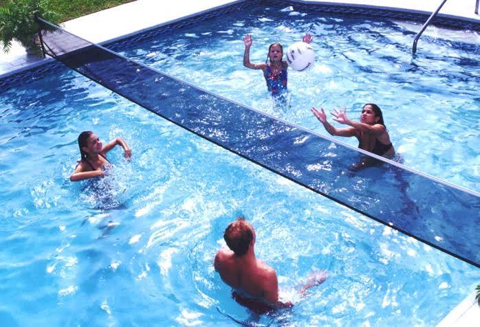 Deportes acu ticos el voleibol de piscina piscinas for Piscina el carmen valencia