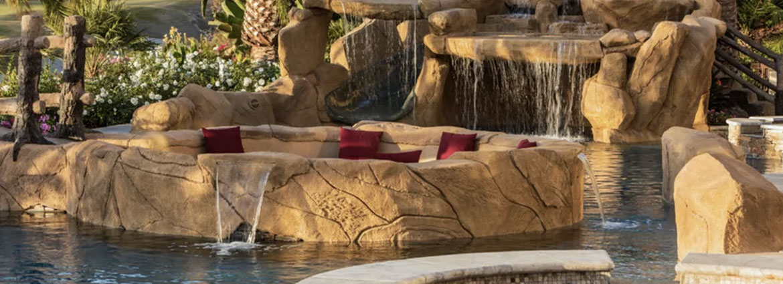 cascadas para piscina en valencia