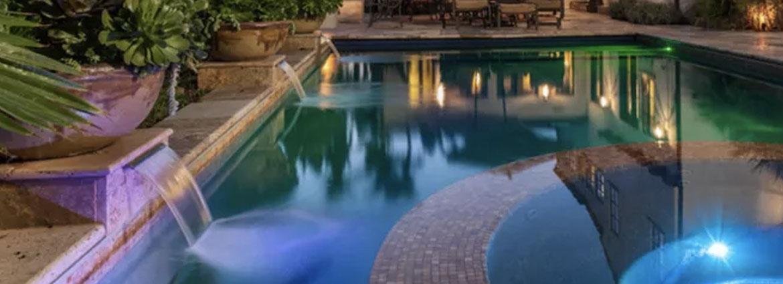 construccion de cascadas para piscina