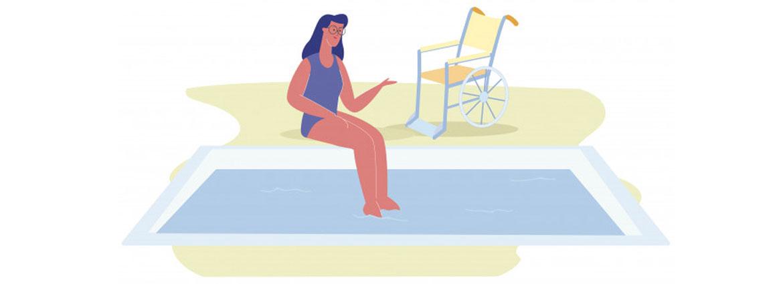 rehabilitacion piscinas personas discapacidad
